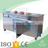 real impot panansonic compressor cold plate ice cream machine/thailand fry ice cream machine