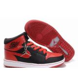 Inquiry about Nike Air Jordan 1 High Mens Shoes Retro Black Red