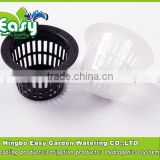 (3#B)Mesh pot. Net cup in 4.3 CM for Hydroponics system.Root support,Root support.Nursery Pots.hydroponics system