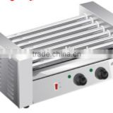 Hot sell Rollers Stainless Steel Electric Hot Dog Machine sausage grill with CE