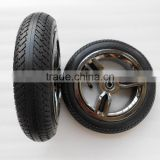 10 inch Baby bike trailer rubber wheel 255x55mm