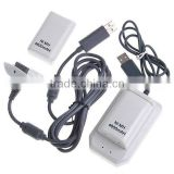 5IN 1 Charger Cable Kit & 4800mAh Battery For Xbox 360