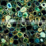 Wholesale blue agate tile for decoration