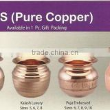 pure copper indian shiny lotus for sale