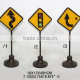 Road Sign Special Table Decoration
