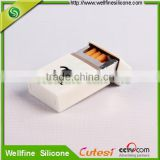 New arrival silicone cigaretter case/cigarette cover/cigarette box with different printing designs