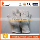 DDSAFETY Fiberglass Protective Glove White Stainless Steel Blend Cut Resistant Safety Gloves