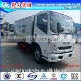 yuejin 4x2 street cleaning truck, small street sweeper,road sweeper brushes,vacuum sweeper truck for sale