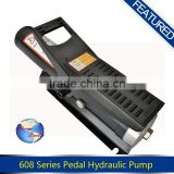 The Foot pedal air hydraulic pumps for different using
