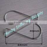Squeeze 8 Shape Metal Clip For Hanging Ceiling Advertising