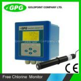 CE approved Swimming pool,drinking water and tap water ph residual chlorine analyzer with 4-20mA output/chlorine sensor/chlorine probe CL800