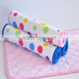 Soft Breathable Portable Travel Waterproof Bamboo Baby Changing Pad/changeing mat