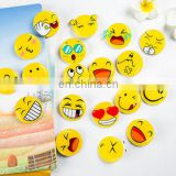 Cartoon Kawaii Emoji Icons Badges Pin On Brooches Backpack Cloth Decoration Badges For Bags Jeans Clothes DIY