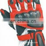Cow Hide Motorbike Racing Gloves/Cow skin Leather Motorcycle Gloves, winter motorcycle gloves, leather motorbike Gloves