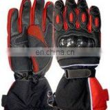 (Supper Deal) SH-773 Genuine Leather Motorbike Gloves,Racing Leather Gloves,Biker Leather Gloves