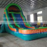 best quality cheap giant inflatable wet&dry slide for sale