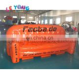Logo Printed advertising inflatables sofa, Air bubble chairs for Promotion