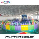 Giant land inflatable Amusement park playground for Commercial Rental
