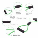 8-Shaped Resistance Loop Band Tube for Yoga Fitness Pilates Workout Exercise Fitness Equipment Chest Developer
