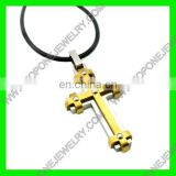 2014 Latest Design gold filled crosses pendants necklace for men China Best Steel Jewelry Manufacturer