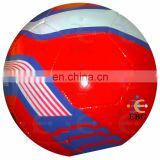 Stock Lot Soccer Balls Promotion Gift, machine stitched football soccer balls