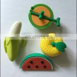 Fruit Eraser Gift blister Set 6pcs