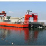 18inch hydraulic cutter suction sand dredger for port dredging