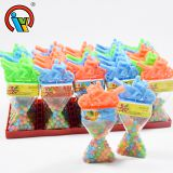 Motorcycle Colorful Fruity Ball Candy