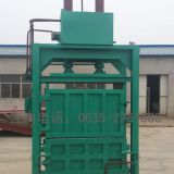 Small vertical baler Waste paper edge hydraulic baler  Malaysian hydraulic baler Straw baler