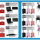 Manufacturer Storage Bags Women Cosmetic Make Up Bag Makeup Case  cosmetic Train Trolley Box For Travel