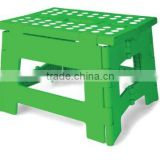 Rhino Easy Fold Step Stool, Short, Green