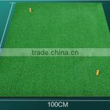 Golf Mat 100*100CM Residential Practice Hitting Mat Rubber Tee Holder