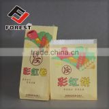 High Quality Greaseproof Brown Kraft Paper Bag For Food, oil proof paper bag                                                                                         Most Popular