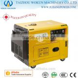 3kw/kva-6kw/kva Power Air Cooled Silent Cheap Portable Diesel Generator                                                                         Quality Choice