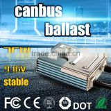 factory driect supply!9-32V Hid Slim built-infast bright hid xenon lamp type electronic fluorescent canbus ballast hid 35w bulbs
