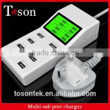 Multi charger of international standard multi usb charger socket for mobile phone charger