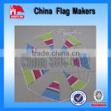 triangle pvc bunting flag