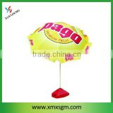 360 Degree Mechanism Tilt for 40Inch Beach Umbrella with 420D Oxford Heat Transfer Printing