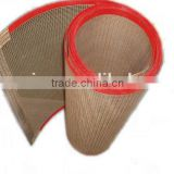 Different Color and Mesh Size Teflon microwave equipment professional open mesh conveyor belt