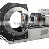 BADA/Shengda plastic pipes saddle fittings welding machine for fabricating reducing tee PE pipe fittings