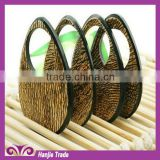 Wholesale 8cm round flat back sew on filigreework resin wooden pendant with loops for bracelet and necklace decorations