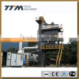 48/64t/h stationary asphalt batching mixing plant, asphalt mixing machinery