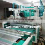 Plastic product manufacturing bubble wrap making machine