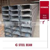 C and U Slotted Perforated Galvanized Shaped Steel Profiled Strut Channel
