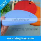 silicone frisbee for dog trainning toy flying disc