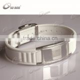 2015 friendship bracelet titanium germanium bracelet stainless steel clasp