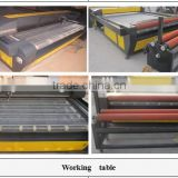 auto feeding fabric CO2 laser cutting machine/auto feeding laser cutter engraving machine for fabric,leather