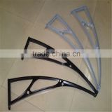 Fiber window canopy,PC awning,polycarbonate awning,window shelter, door canopy Safety shelter