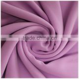 Stylish fashionable and beautiful 100% polyester 75D pearl chiffon fabric for fashion girl dress