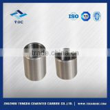 Tungsten carbide crucibles to melt steel and alloys